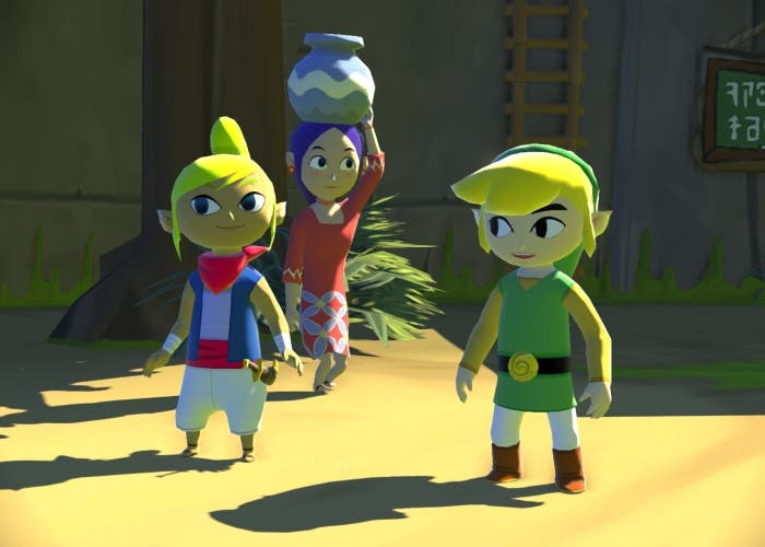 The Legend of Zelda The Wind Waker Nintendo Wii U
