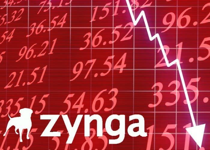 Desplome en bolsa de Zynga