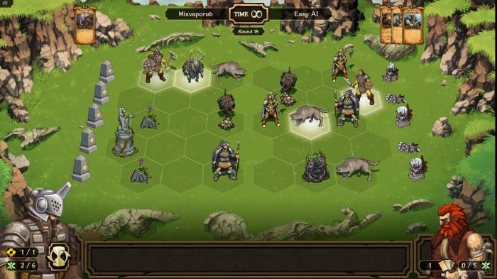 Scrolls - Campo de batalla