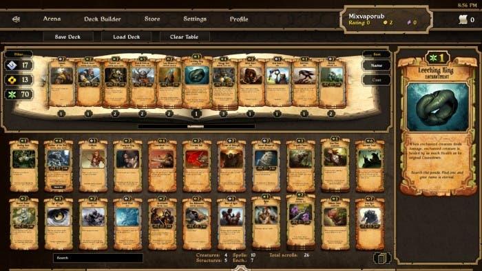 Scrolls - Contructor de barajas
