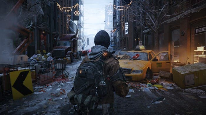 ingame de the division