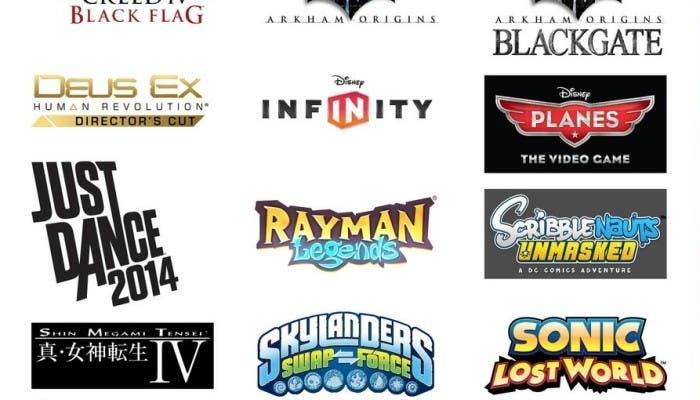 third party games nintendo 3DS Wii U