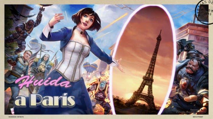 Bioshock Infinite Huida a Paris