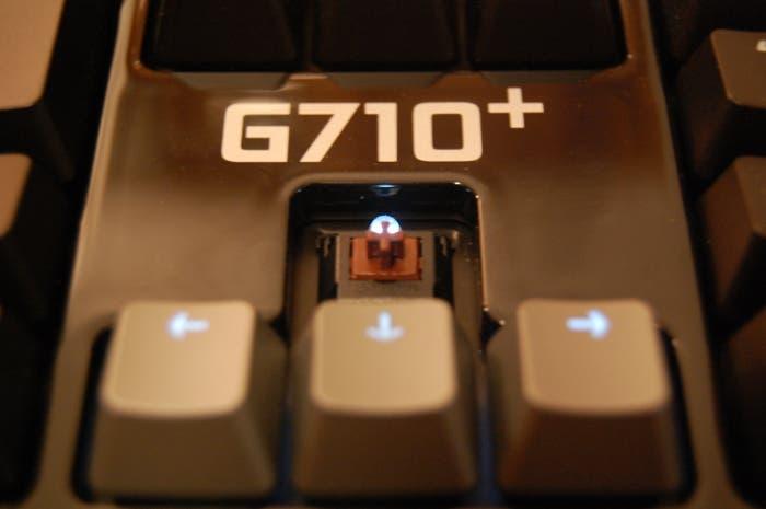 Probamos el teclado mecánico Logitech G710+, un teclado para jugones y trabajadores