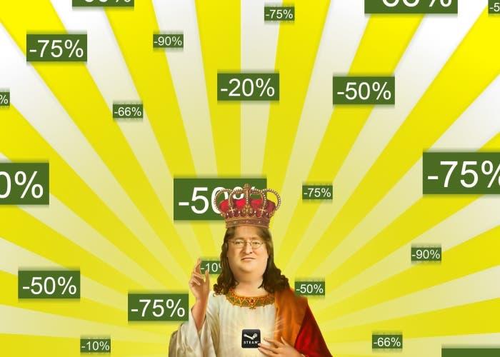 Rebajas Steam Gabe Newell
