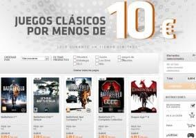 Rebajas tienda Origin juegos clásicos