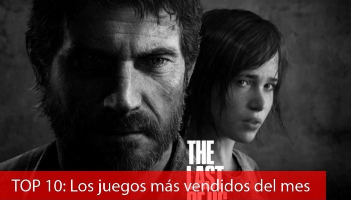 Top 10 juegos más vendidos de junio The last of us
