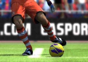 Portero sacando en FIFA 13