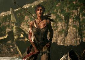 Lara en la isla