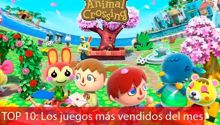 juego mas vendido julio 2013 animal crossing new leaf