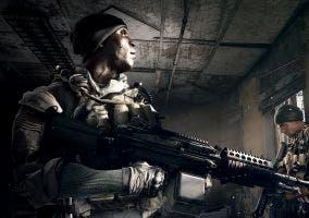 Grandes detalles del soldado