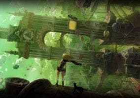 Gravity Rush artwork