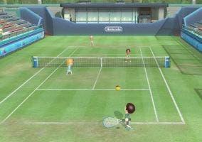 Tenis en Wii Sports Club