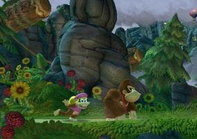 Dixie Kong en Donkey kong Country Tropical Freeze