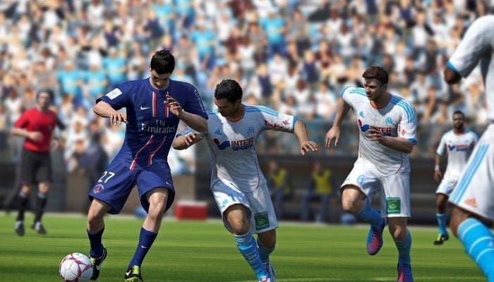 Regateando en FIFA 14