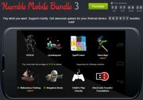 Humble Bundle Mobile 3 Ridiculous Fishing Swordigo Kingdom Rush