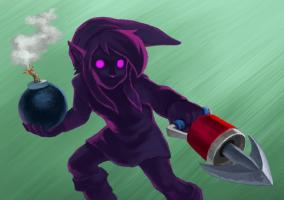 A Link Between Worlds Guía Dark Link (I)