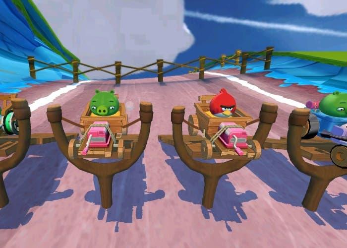 Angry Birds Go Lanzamiento