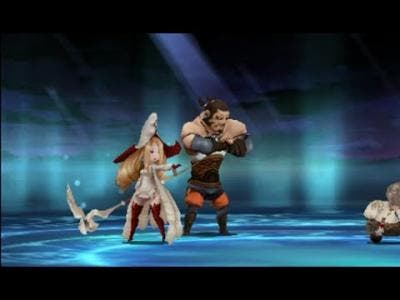 Barras y Holly en el combate para conseguir la clase Monje
