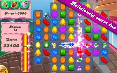 InGame de Candy Crush