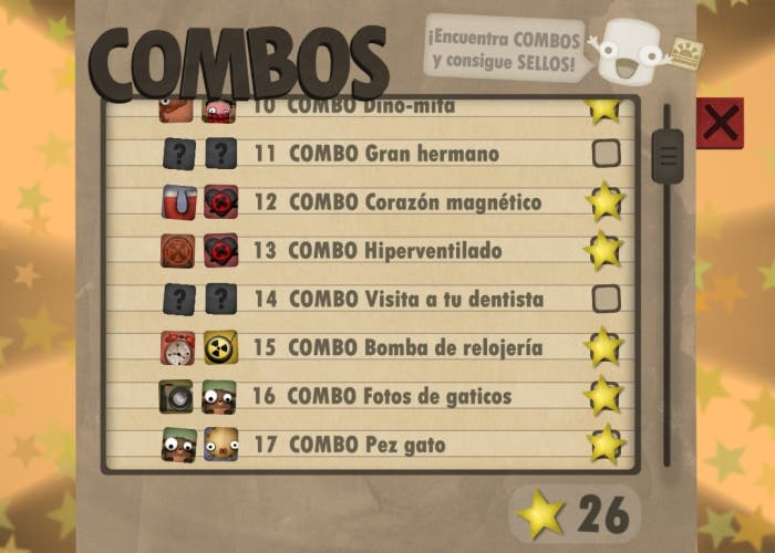 Little Inferno lista combos