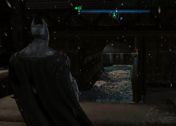 Batman en las torres