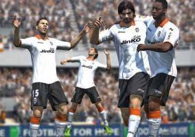 Celebración en FIFA 14