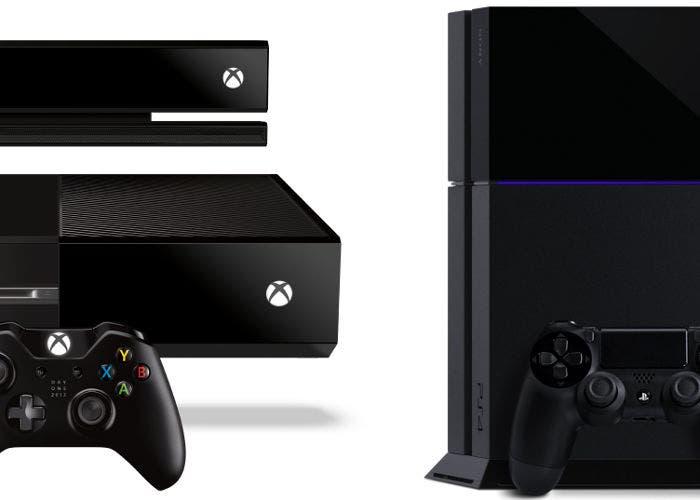Consola PS4 y Xbox One