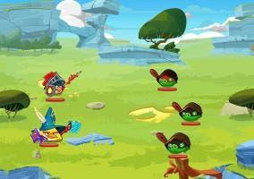 Angry Birds Epic Batalla