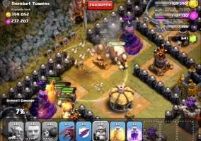 Clash of clans goblin town Sherbet Towers