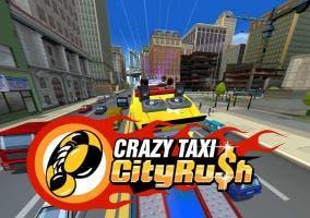 Crazy Taxi City Rush logo