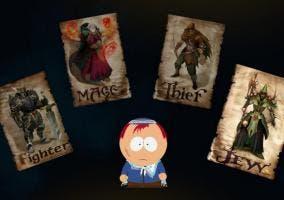 Elección de clase en South Park La Vara de la Verdad