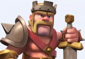 Rey bárbaro en Clash of Clans