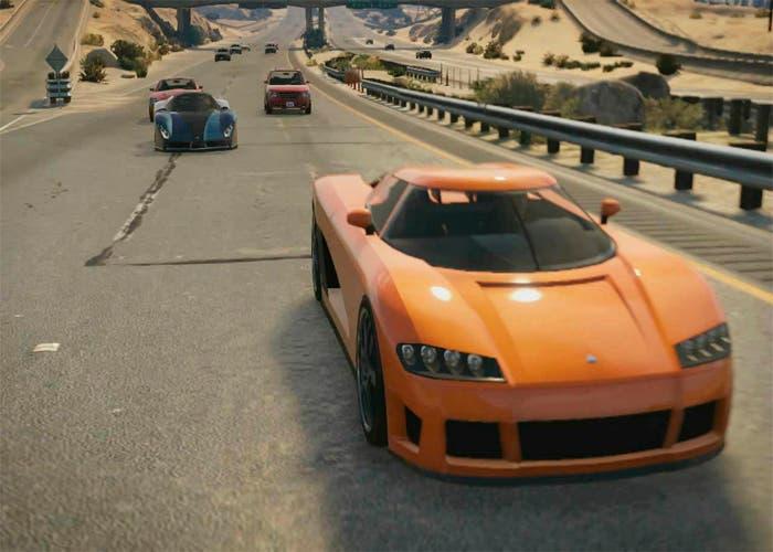 pasar coches de la campaña al online en gta 5
