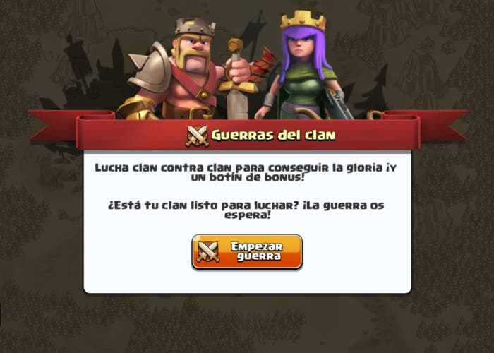 Clash of Clans guerra de clanes