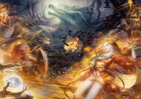 Destiny of Spirits fusionar espíritus