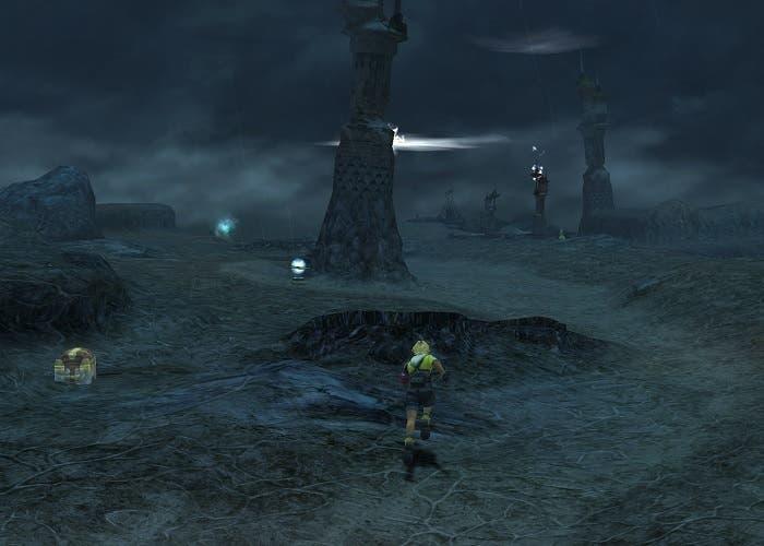 Final Fantasy X llanura de los rayos