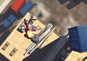 Goat Simulator volando