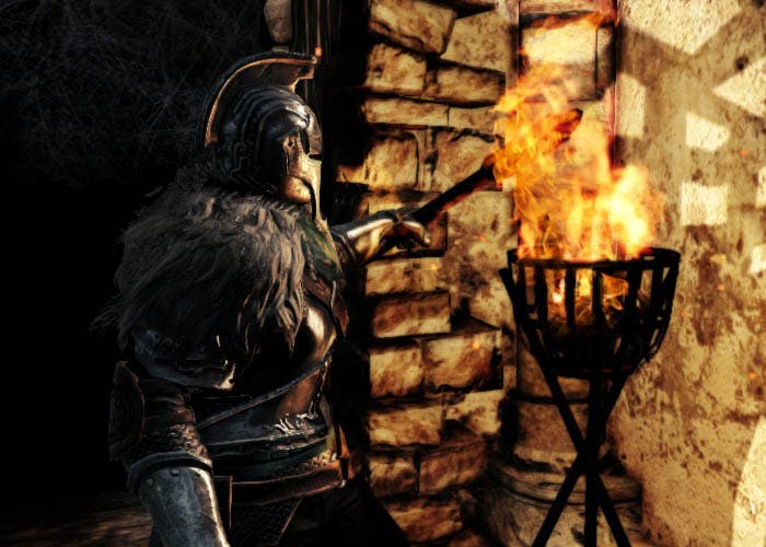 Hoguera en Dark Souls 2