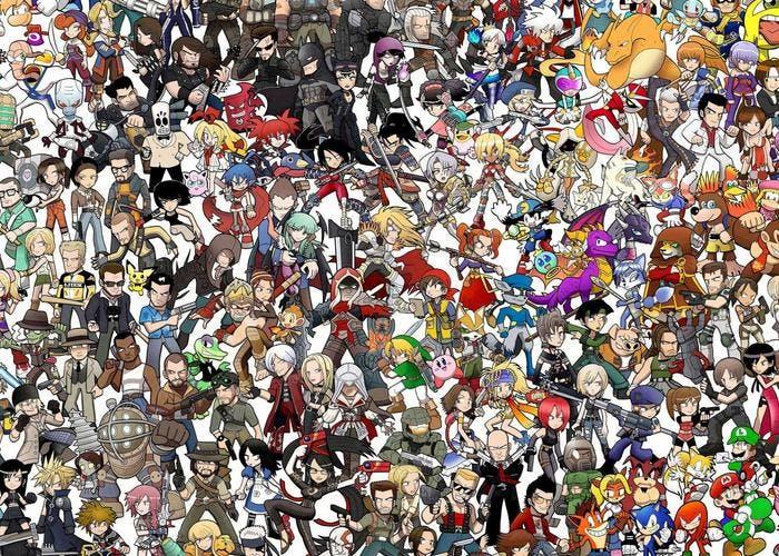 Personajes de juegos