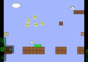 Syobon Action Cat Mario screenshot