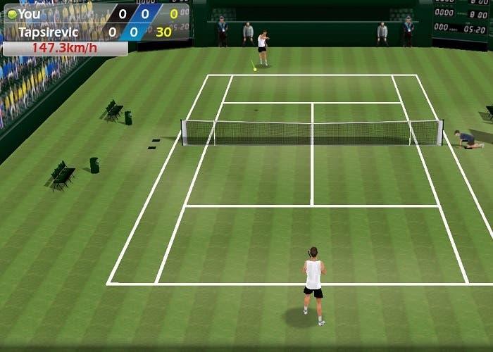 Tennis 3D trucos