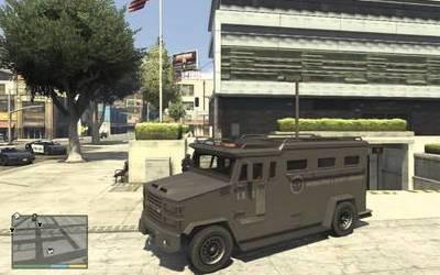 Vehículo blindado GTA