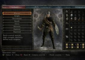 Dark Souls II clases