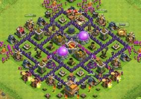 Defensas en Clash of Clans