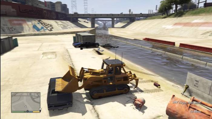 Excabadora GTA V