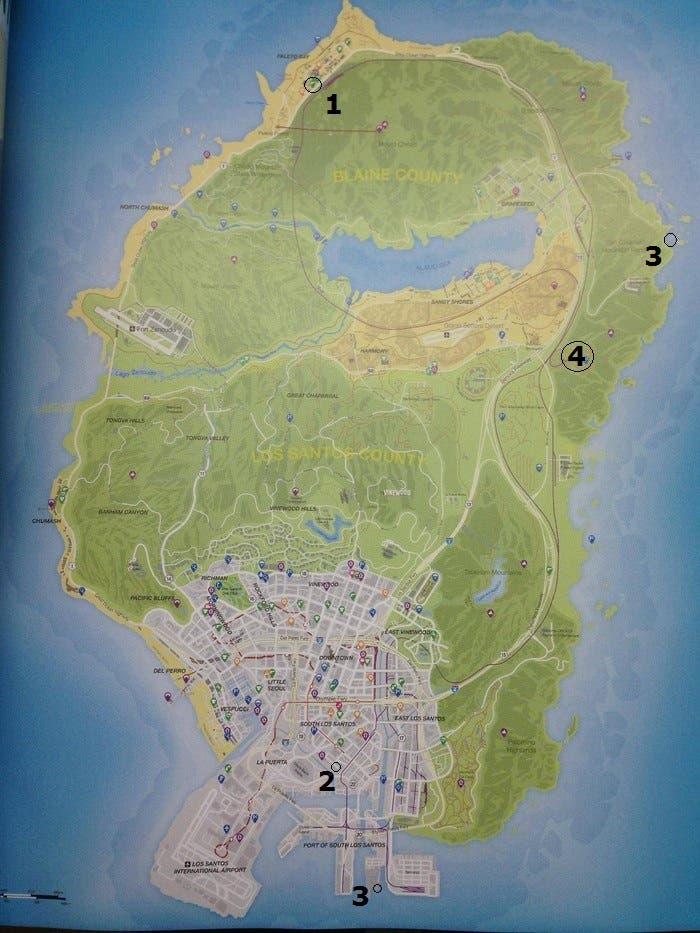 Mapa GTA V