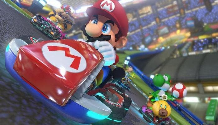 Mario Kart 8 Gameplay