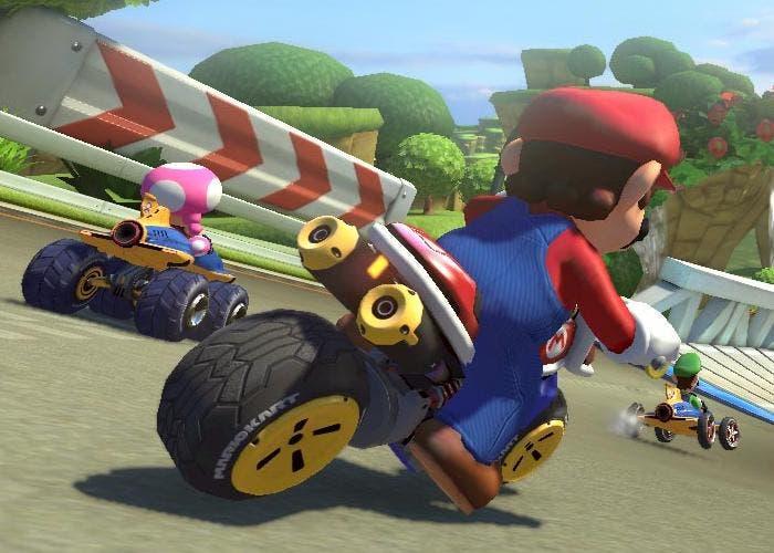 Moto en Mario Kart 8