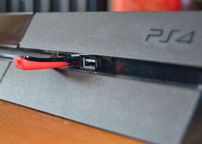 Pendrive en PS4